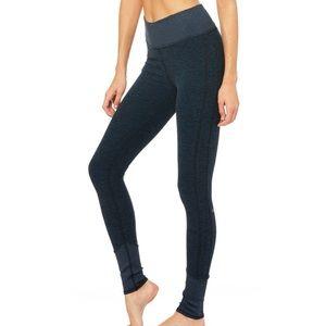 Alo Yoga Lounge Leggings Dark Heather Navy Blue